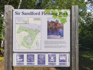 Frog Pond at Sir Sanford Fleming Park