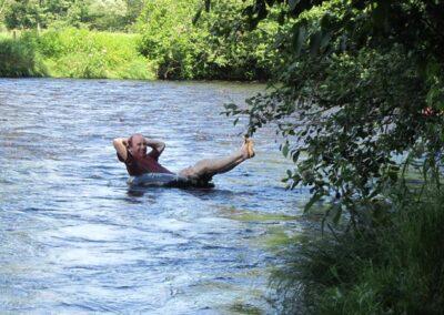 Gaspereau River Tubing